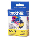 Brother LC41Y Original Yellow Ink Cartridge