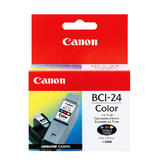 Canon BCI-24C 6882A003 Original Color Ink Cartridge