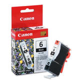 Canon BCI-6BK Original Black Ink Cartridge (4705A003)