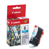 Canon BCI-6C Original Cyan Ink Cartridge (4706A003)