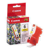 Canon BCI-6Y Original Yellow Ink Cartridge (4708A003)