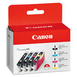 Canon CLI-8 (0620B010) Original Ink Cartridge Combo Set (Black/Cyan/Magenta/Yellow)