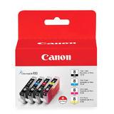 Canon CLI-8 Original Ink Cartridge Combo BK/C/M/Y (0620B010)