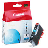 Canon CLI-8C 0621B002 Original Cyan Ink Cartridge