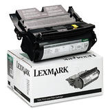 Lexmark 12A6830 Original Black Return Program Toner Cartridge