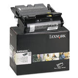 Lexmark 64004HA Original Black Return Program Toner Cartridge High Yield for Label Applications