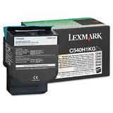 Lexmark C540H1KG C540H2KG Original Black Return Program Toner Cartridge High Yield