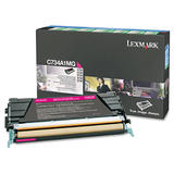 Lexmark C734A1MG Original Magenta Return Program Toner Cartridge
