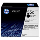 HP CE255X Original Black Toner Cartridge (High Yield)