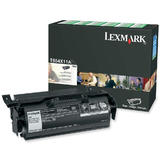 Lexmark T654X11A Original Black Return Program Toner Cartridge Extra High Yield