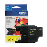 Brother LC71Y Original Yellow Ink Cartridge