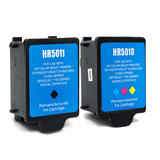 Compatible HP 14 C5011AN C5010AN Black and Color Ink Cartridge Combo