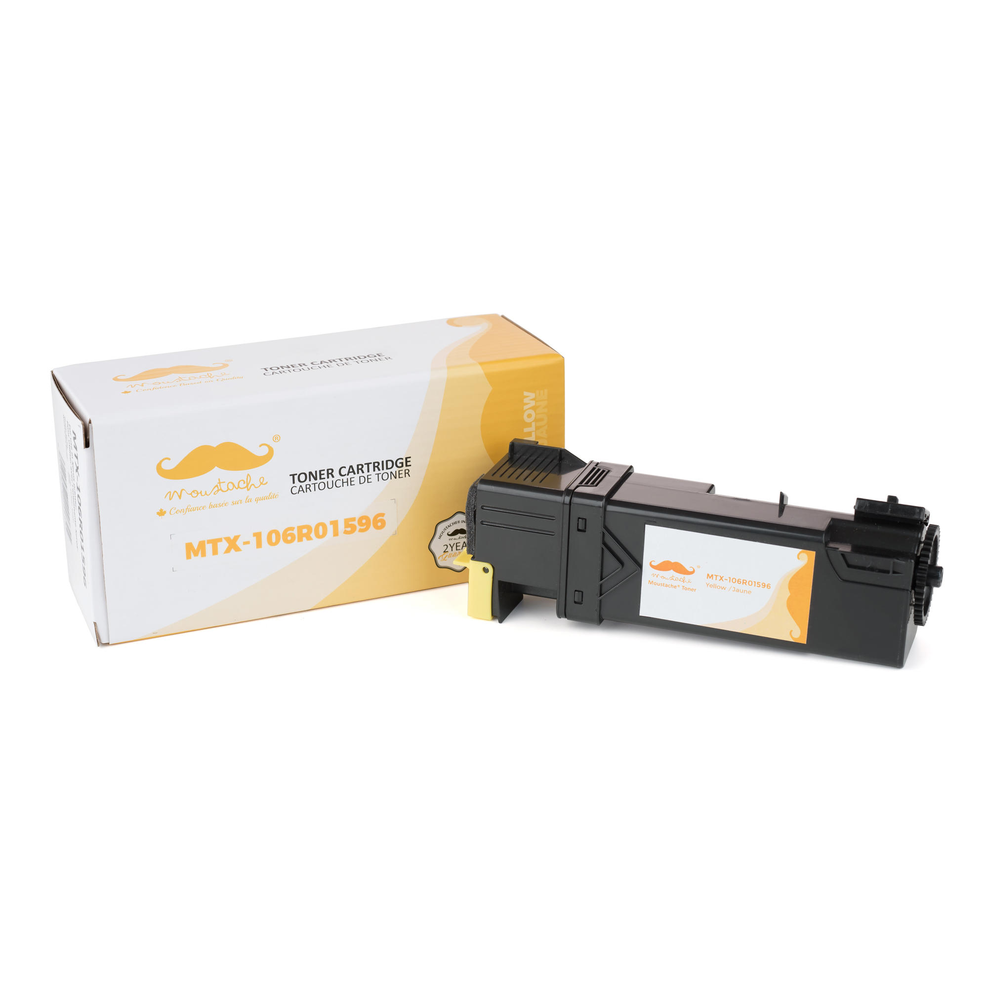 Xerox 106R01596 Compatible Yellow Toner Cartridge - Moustache®
