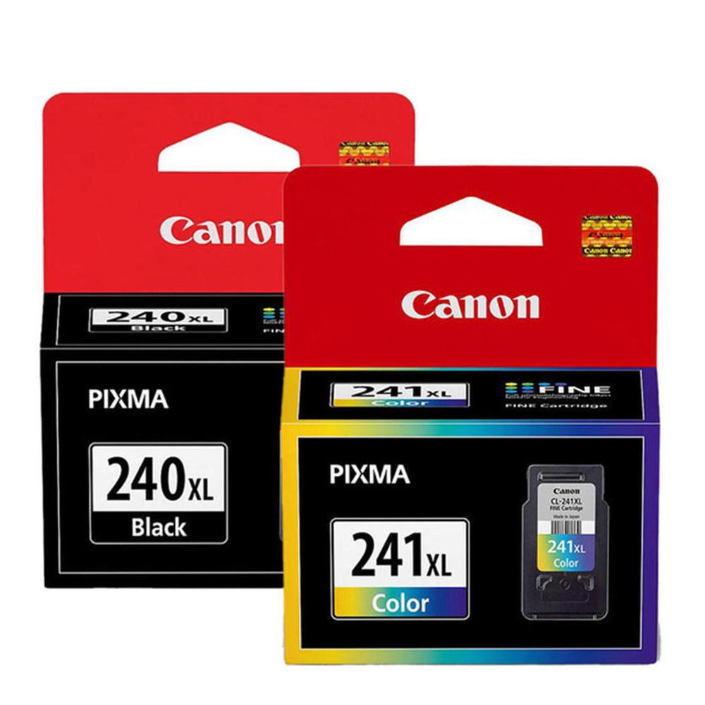 Canon PG-240XL CL-241XL Original Ink Cartridge High Yield Combo (5206B001 5208B001)
