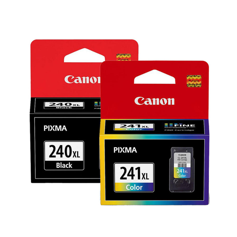 Canon PG240XL CL241XL 5206B001 5208B001 Original Ink Cartridge Combo Canon PG-240XL CL-241XL OEM Combo