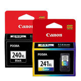 Canon PG-240XL CL-241XL Original Ink Cartridge High Yield Combo (5206B001 5208B001)