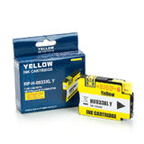 Remanufactured ( Compatible ) HP 933XL CN056AN Yellow Ink Cartridge High Yield