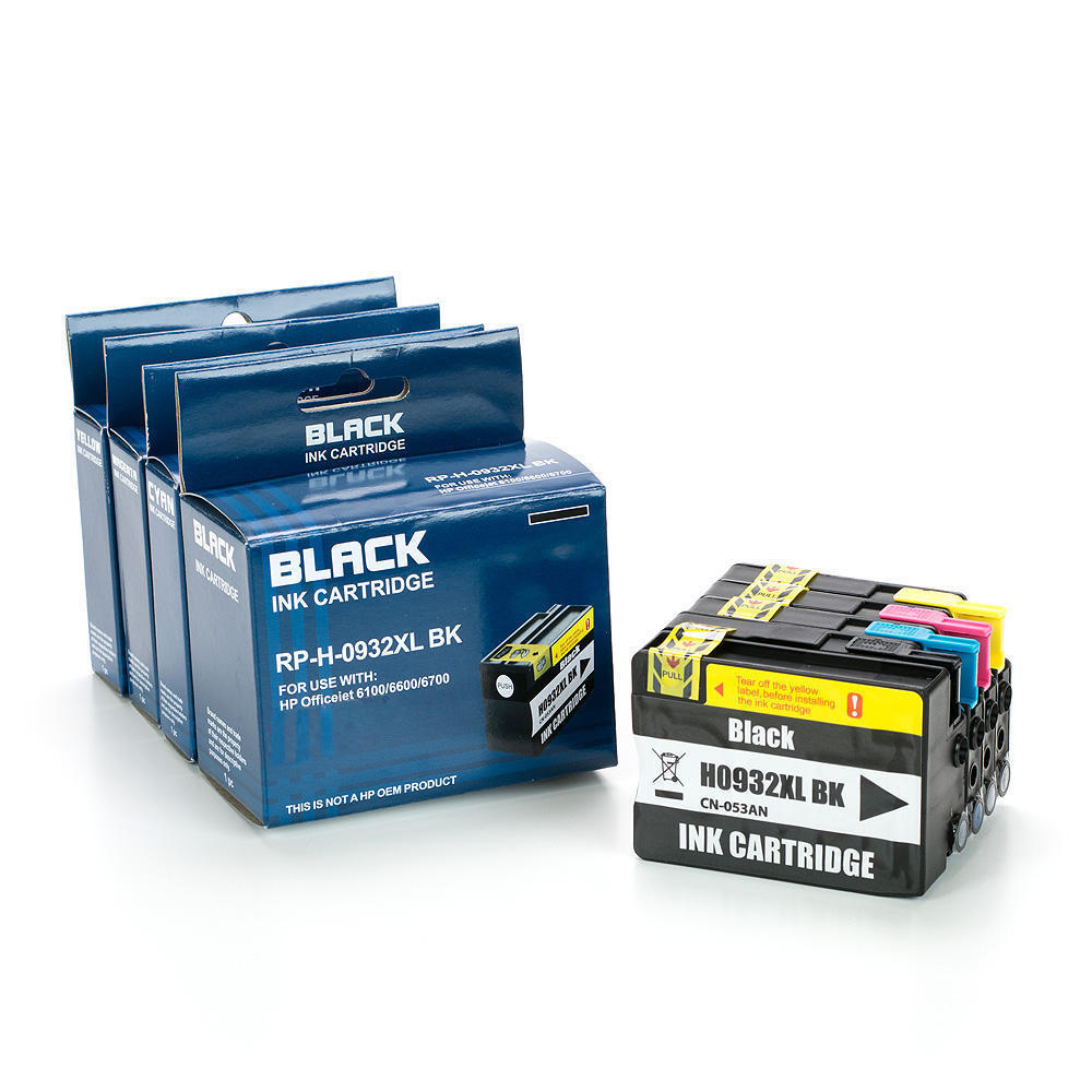 Remanufactured ( Compatible ) HP 932XL HP 933XL Ink cartridge Combo High Yield BK/C/M/Y