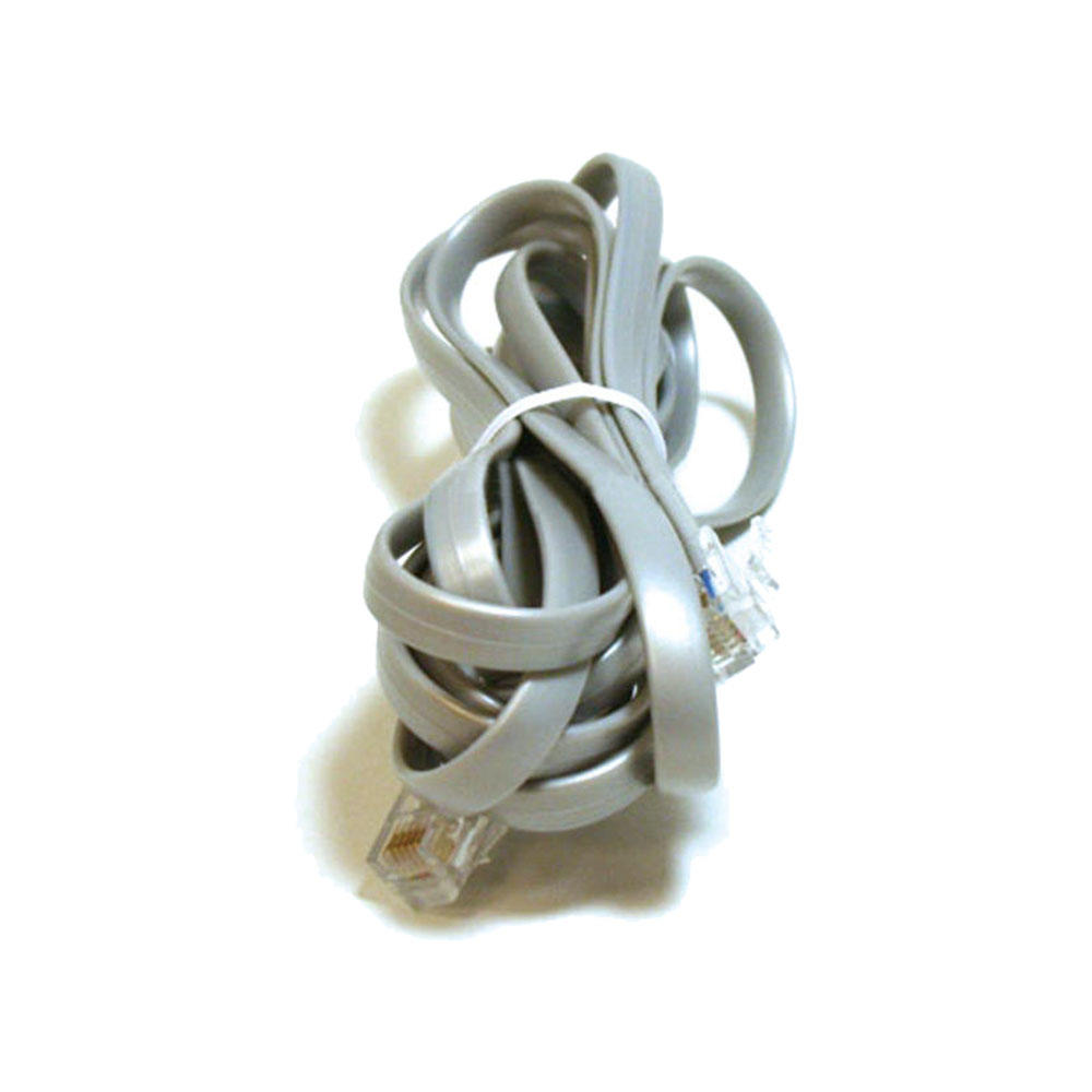 Phone Cable, RJ12 (6P6C), Straight – 3 Lengths Available for Data – Monoprice