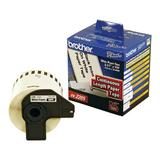 Brother DK2205 Original Continuous Length Label, 23/7'' x 100' (62mm x 30.48m), Black on White