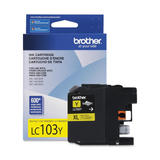 Brother LC103YS Original Yellow Ink Cartridge
