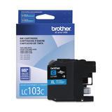Brother LC103CS Original Cyan Ink Cartridge