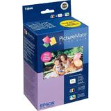 Epson T5846 Original Photo Ink Cartridge and Photo Paper Combo for PictureMate 200 Series Printer