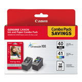 Canon PG40 CL41 Original Ink Cartridge Combo