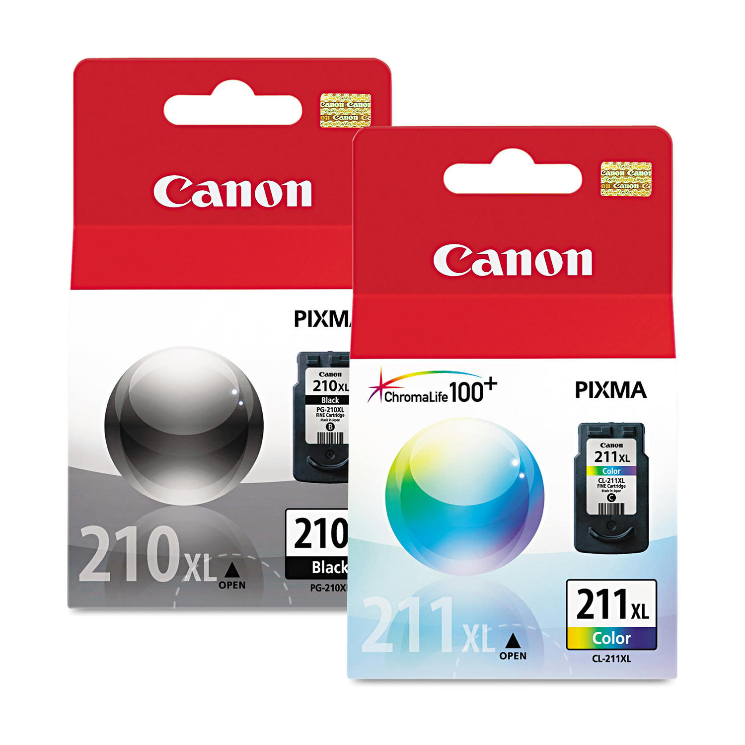 Canon PG210XL CL211XL Original Ink Combo (2973B048)