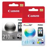Canon PG210XL CL211XL Original Ink Combo