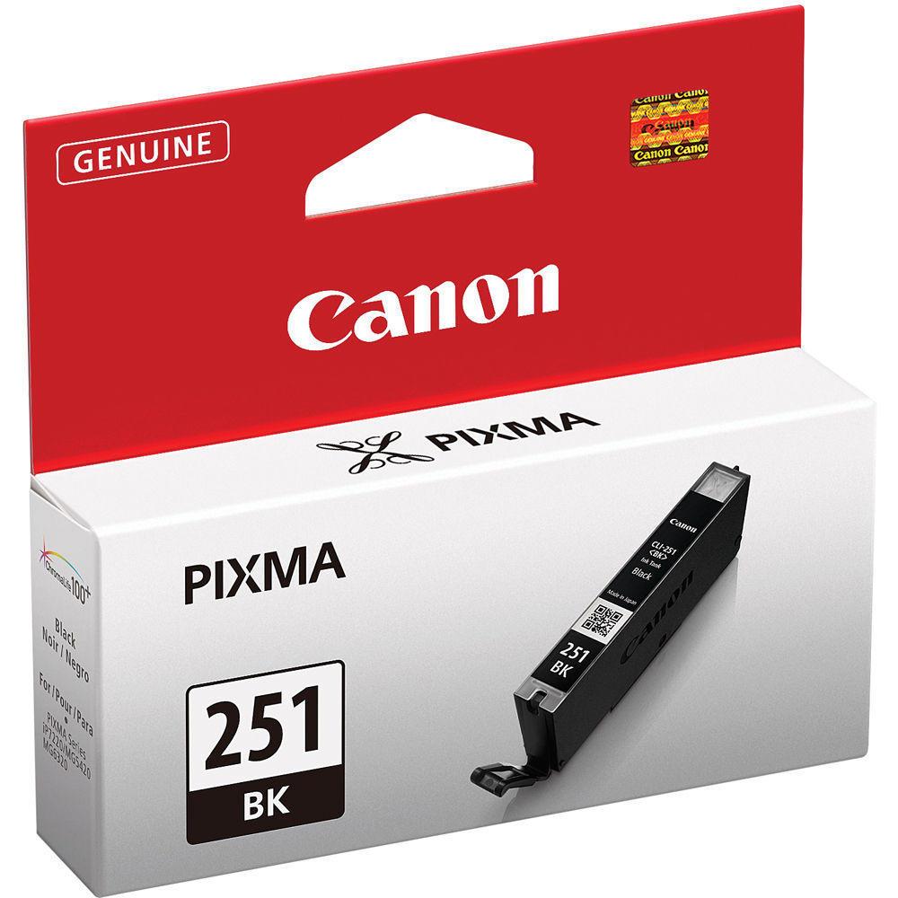 Canon CLI-251BK Original Black Ink Cartridge (6513B001)