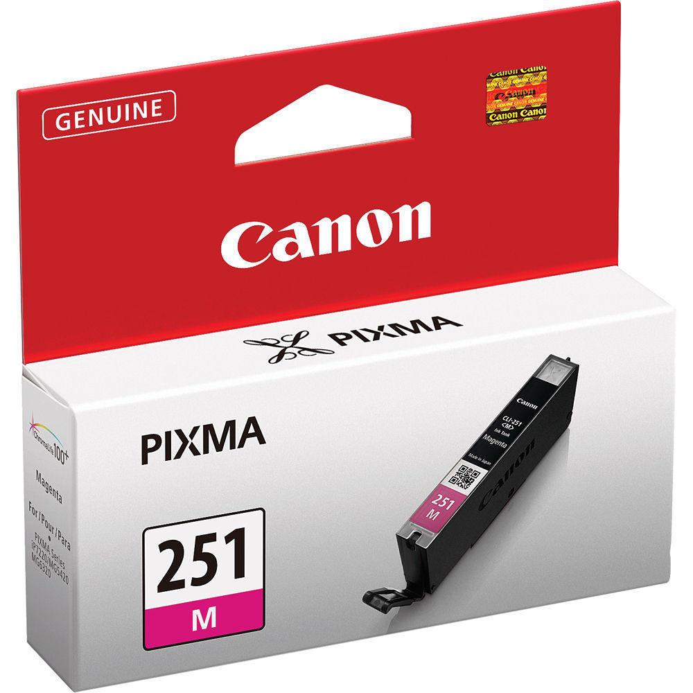 Canon CLI-251M 6515B001 Original Magenta Ink Cartridge