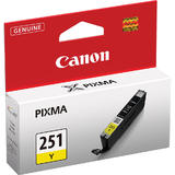 Canon CLI-251Y Original Yellow Ink Cartridge (6516B001)