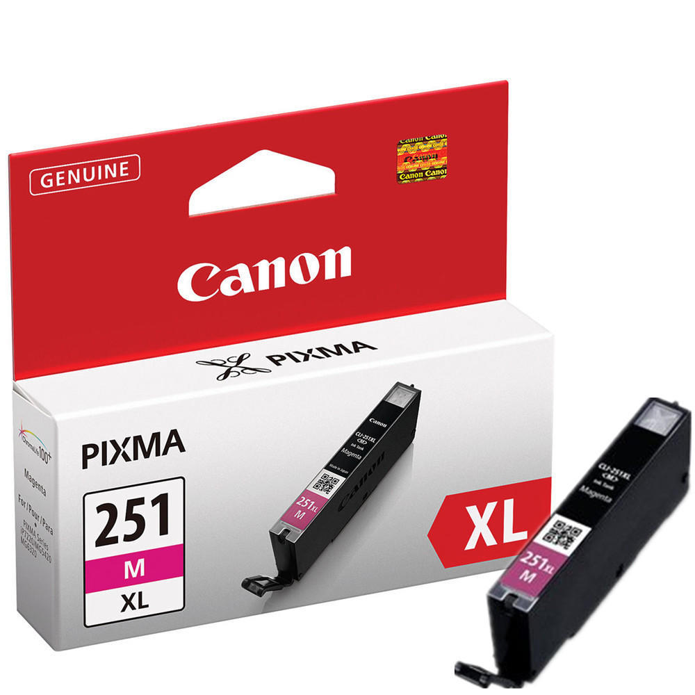Canon CLI-251XLM 6450B001 Original Magenta Ink Cartridge