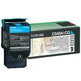 Lexmark C540A1CG Original Cyan Return Program Toner Cartridge