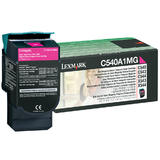Lexmark C540A1MG Original Magenta Return Program Toner Cartridge