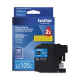 Brother LC105CS Original Cyan Ink Cartridge Extra High Yield