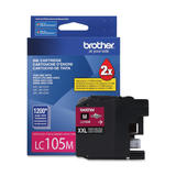 Brother LC105MS Original Magenta Ink Cartridge Extra High Yield