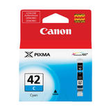 Canon CLI-42C Original Cyan Ink Cartridge (6385B002)