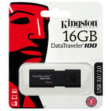 Kingston® DataTraveler 100 G3 USB 3.0 Flash Drive