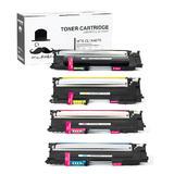 Samsung CLT-407S Compatible Toner Cartridge Combo BK/C/M/Y - Moustache®
