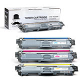 Brother TN-221BK TN-225 C/M/Y Compatible Toner Cartridge Combo - Moustache®