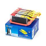 Canon PGI250XL CLI251XL Compatible Ink Cartridge Combo PGI-250XL+CLI-251XLBK/C/M/Y - G&G™
