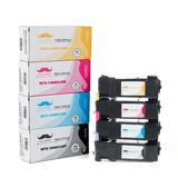 Xerox 106R01597 106R01594 106R01595 106R01596 Compatible Toner Cartridge Combo BK/C/M/Y - Moustache®