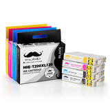 Epson 200 T200XL Compatible Ink Cartridge Combo High Yield BK/C/M/Y - Moustache®