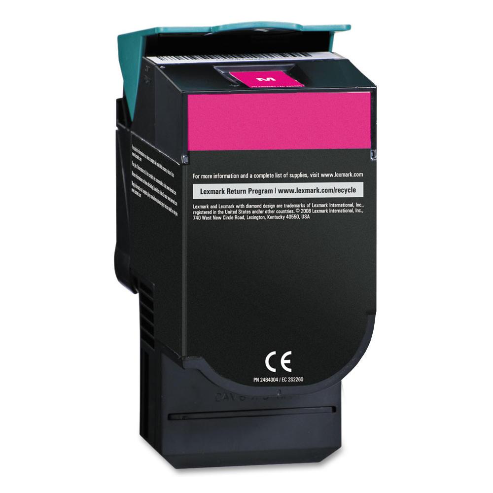 Lexmark C544X2MG C544X1MG Remanufactured Magenta Toner Cartridge Extra High Yield