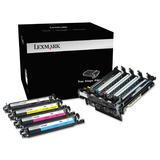 Lexmark 700Z5 70C0Z50 Original Black and Color Imaging Drum
