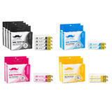Epson 79 T079 Compatible Ink Cartridge Combo High Yield - 10/Pack - Moustache®
