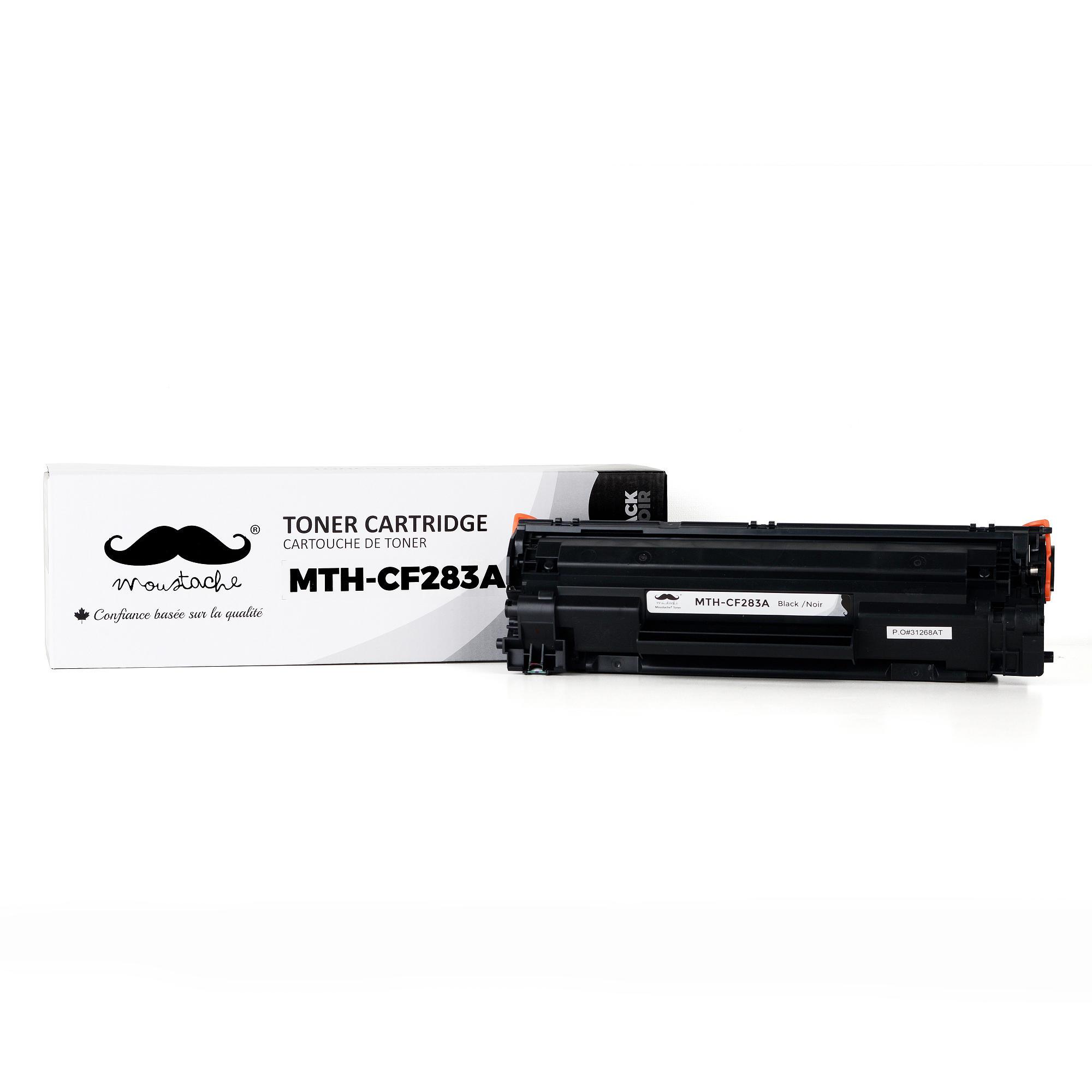 Compatible HP 83A CF283A Black Toner Cartridge - Moustache®
