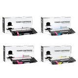 Samsung CLT-406S Compatible Toner Cartridge Combo BK/C/M/Y - Moustache®